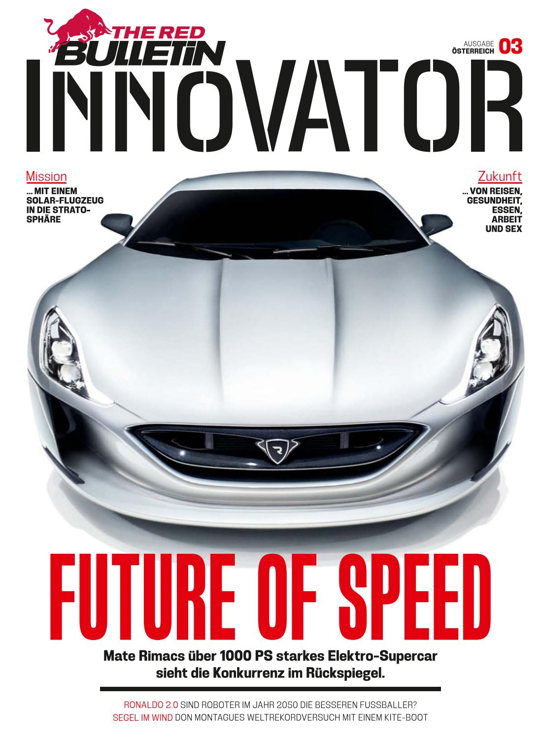 The Red Bulletin Innovator #3 - AT by Red Bull Media House - issuu