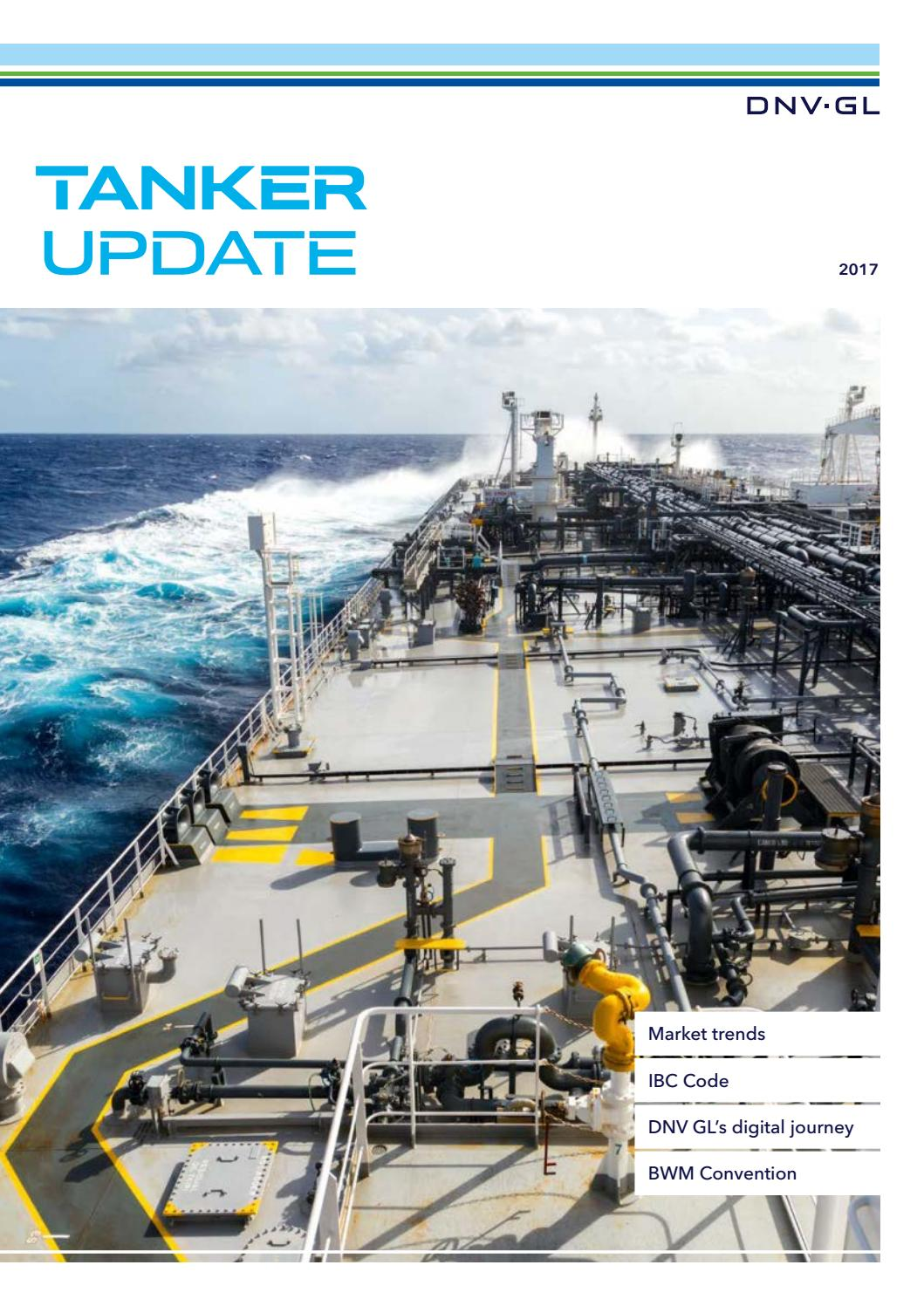 Tanker Update 2017 by DNV GL - issuu
