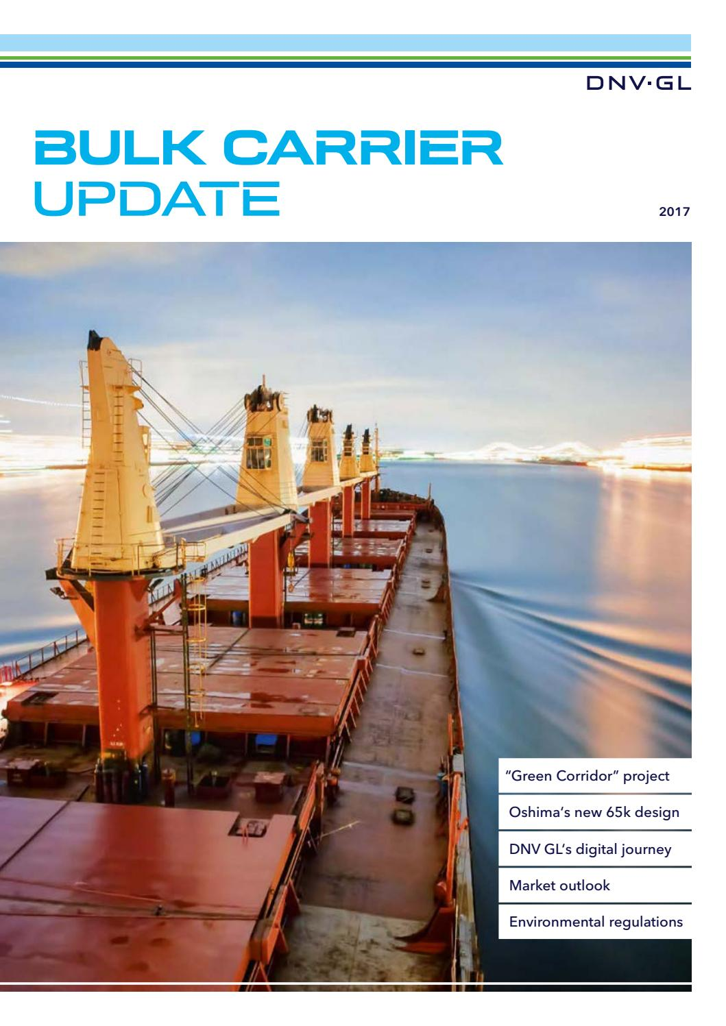 Bulk Carrier Update 2017 By Dnv Gl Issuu Pto Wiring Diagram Gps Trackers