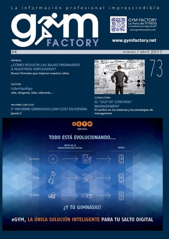 92a1e455362 Gym Factory | Gestión nº 73 by Gym Factory Magazine - issuu