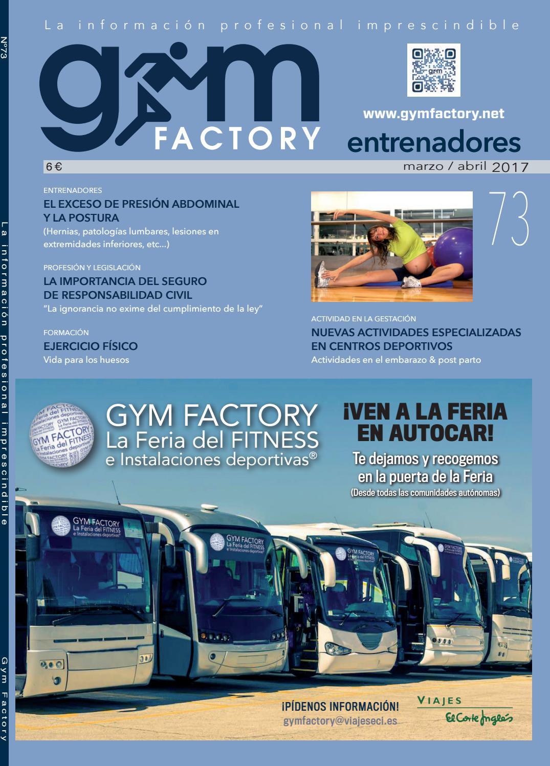 Gym Factory | Entrenadores nº73 by Gym Factory Magazine - issuu