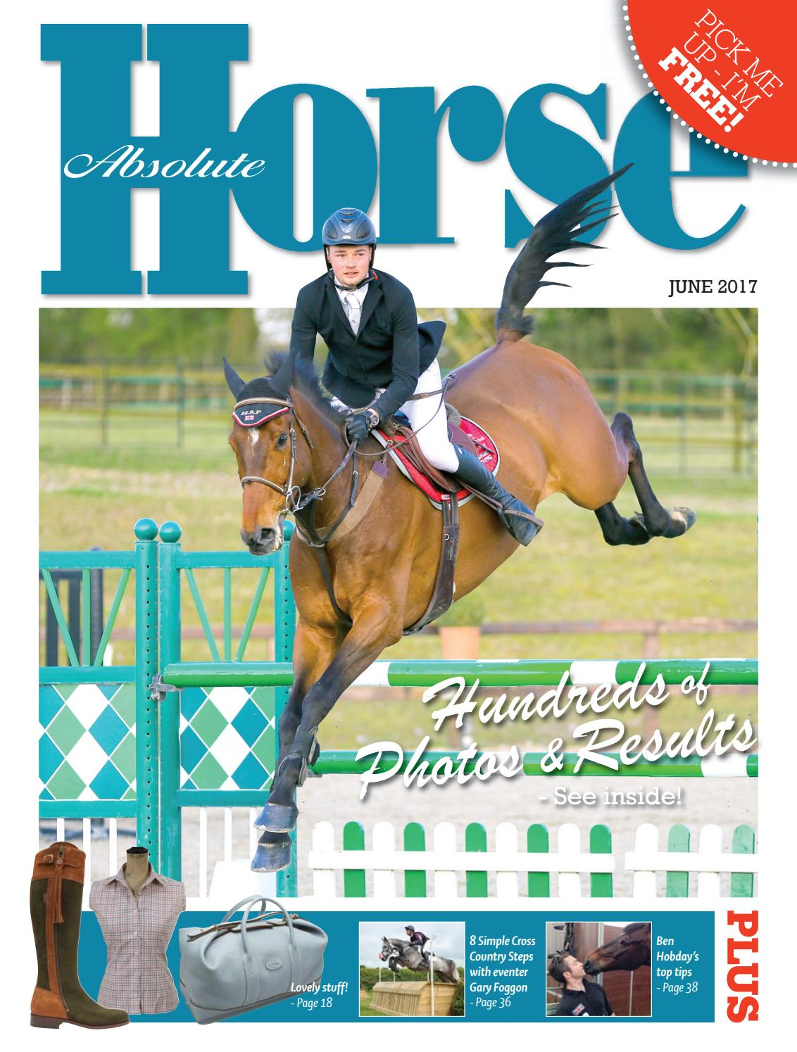 Absolute Horse June 2017 By Absolute Horse Magazine Issuu