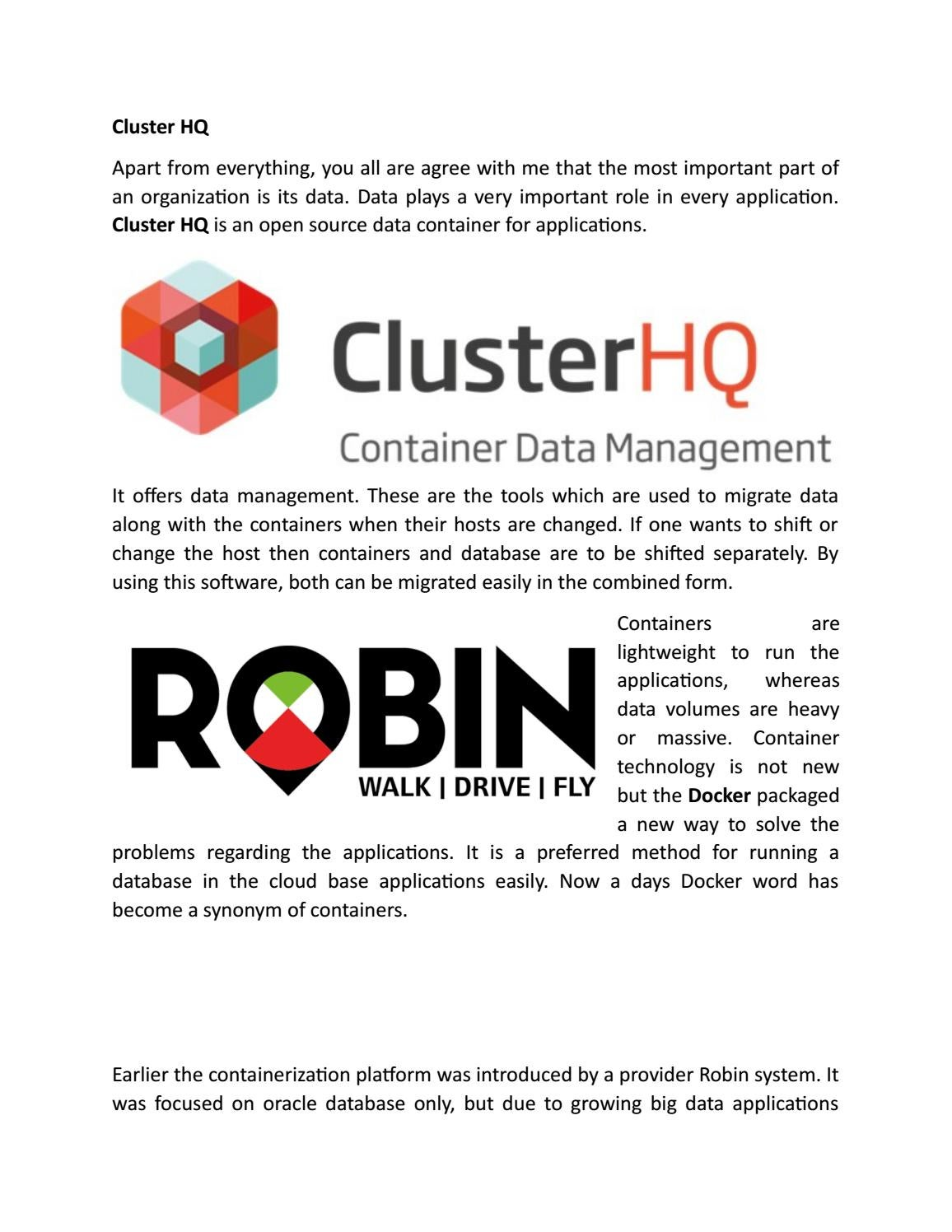 Cluster hq by How a Hadoop distribution can help you manage
