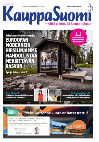 KauppaSuomi 20 2017 (P) by KauppaSuomi - issuu 9e2bf80750