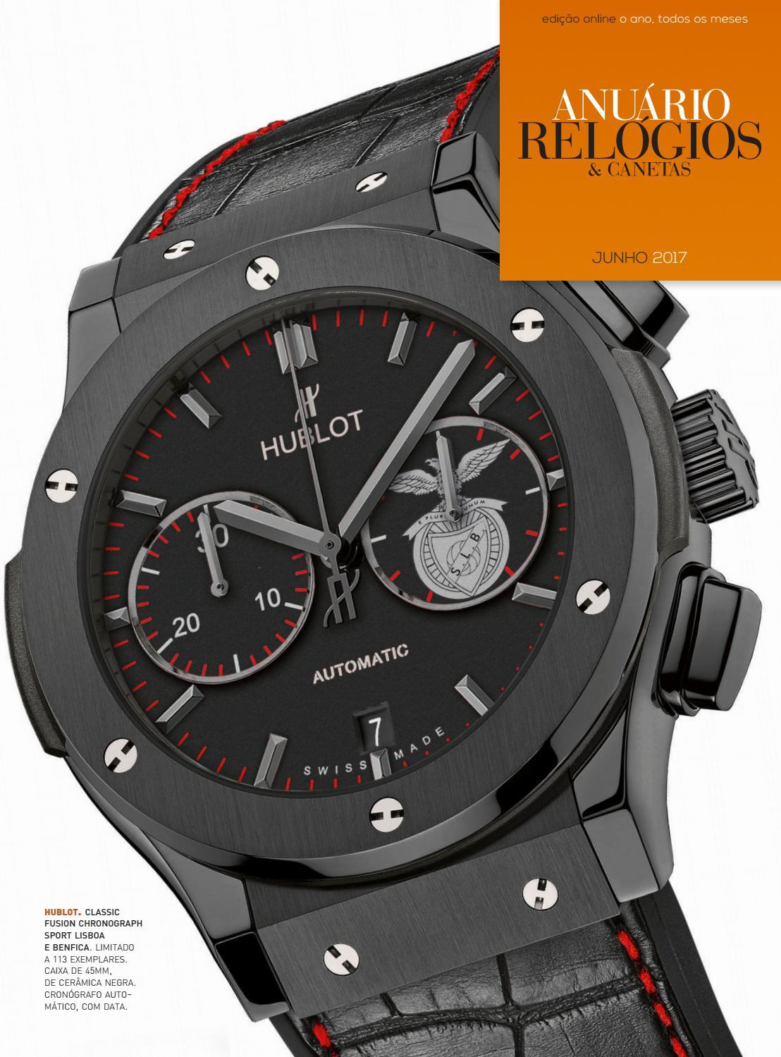 1f1c43f6528 Anuário Relógios   Canetas - Junho 2017 by Anuário Relógios   Canetas -  issuu