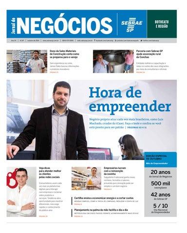f79aa5ee94 Jornal de Negócios Sebrae-SP - 01 de outubro de 2014 - Botucatu e ...