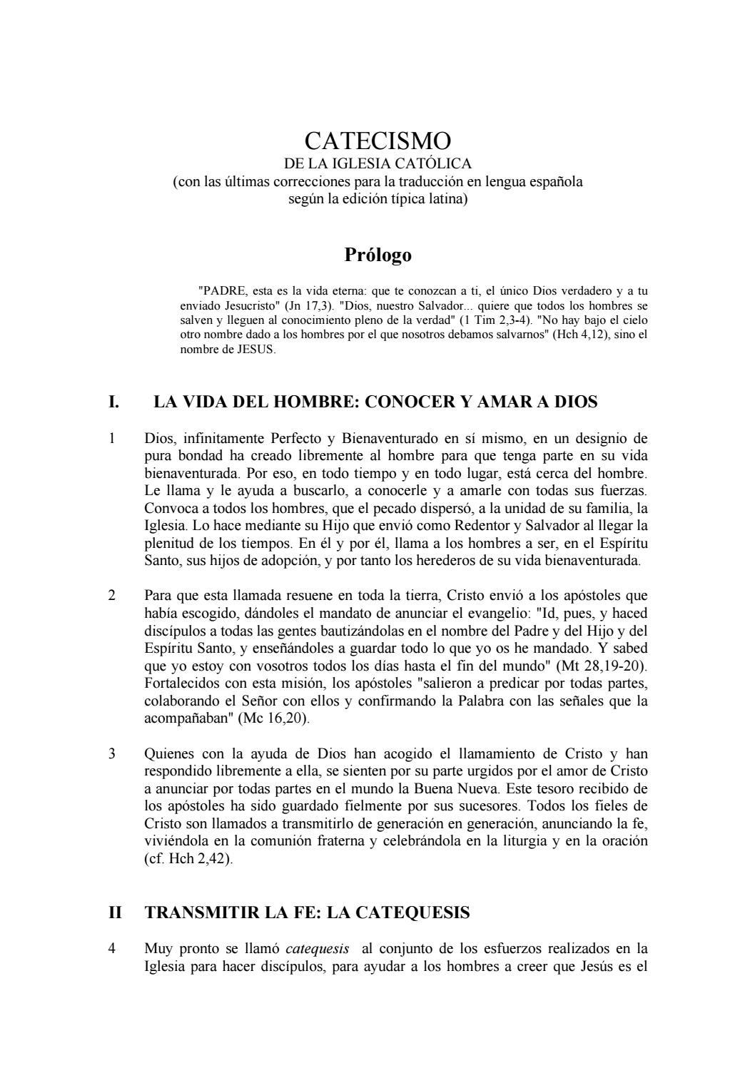 Catecismo De La Iglesia Catolica By Hector Emiro Diaz Velasquez Issuu