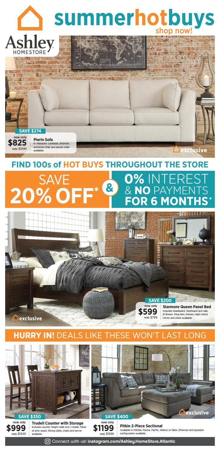 Remarkable Ashley Homestore Summer Hot Buys Ends 11 07 By Ashley Dailytribune Chair Design For Home Dailytribuneorg