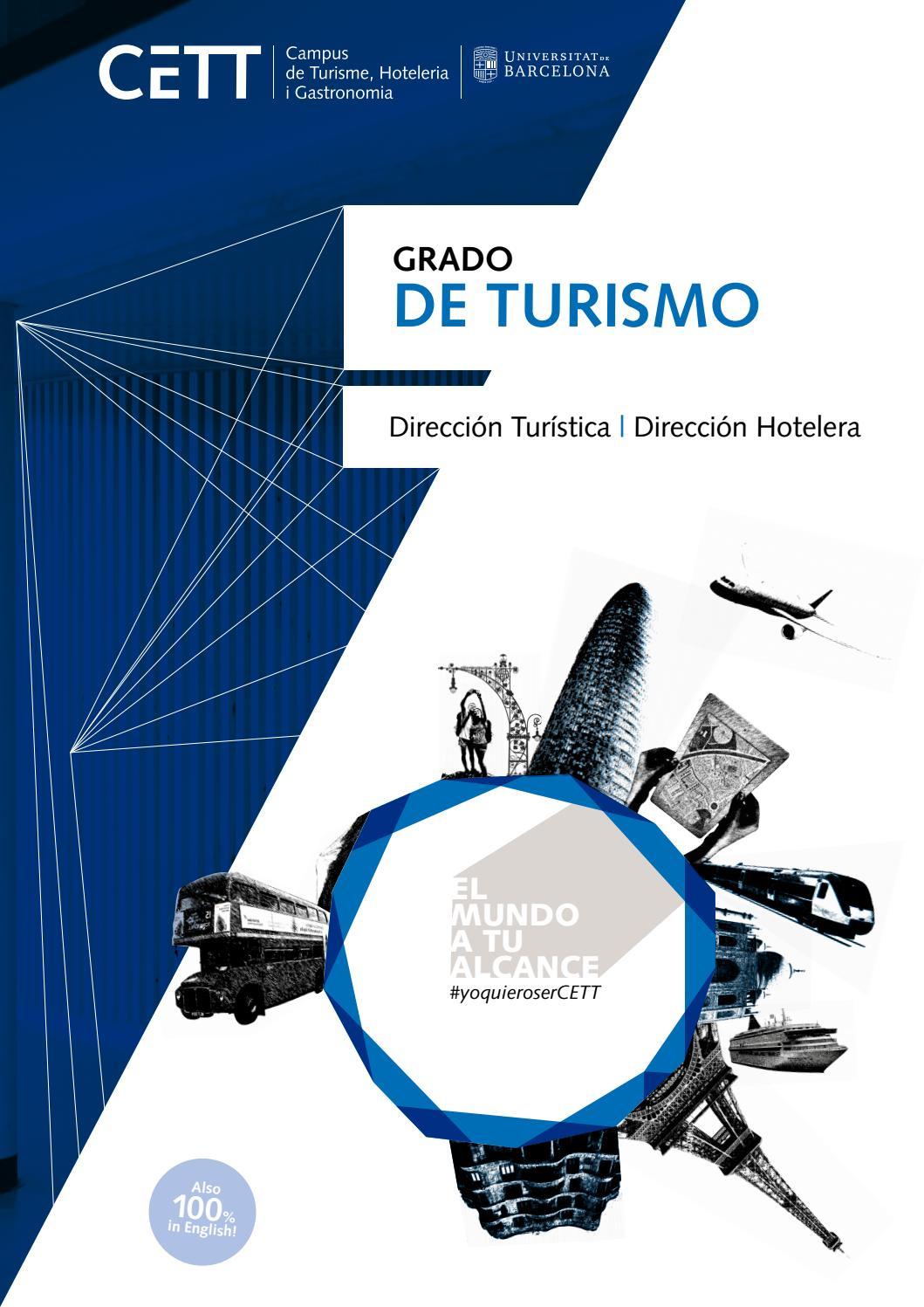 Grado de Turismo CETT-UB by Grup CETT - issuu