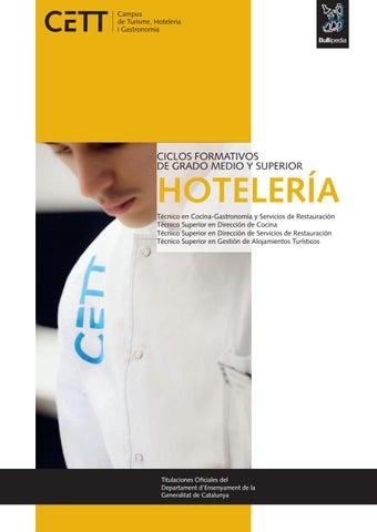Ciclos formativos de grado medio y superior de hoteler a - Grado medio de cocina ...