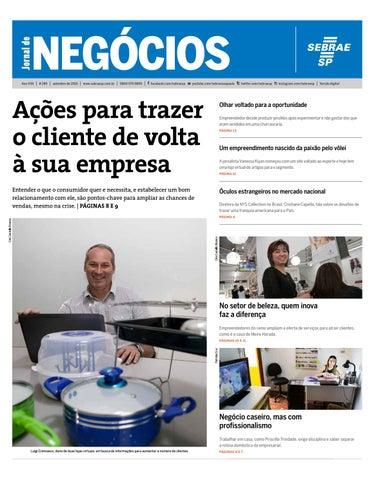 f170085900fe6 Jornal de Negócios Sebrae-SP - 01 de setembro de 2016 by Sebrae-SP ...