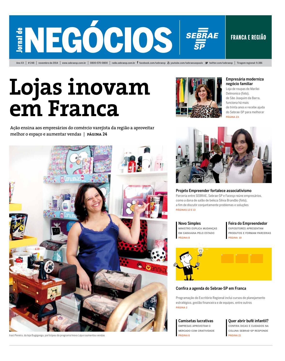 1475bd80c Jornal de Negócios Sebrae-SP - 01 de novembro de 2014 - Franca e Região by  Sebrae-SP - issuu