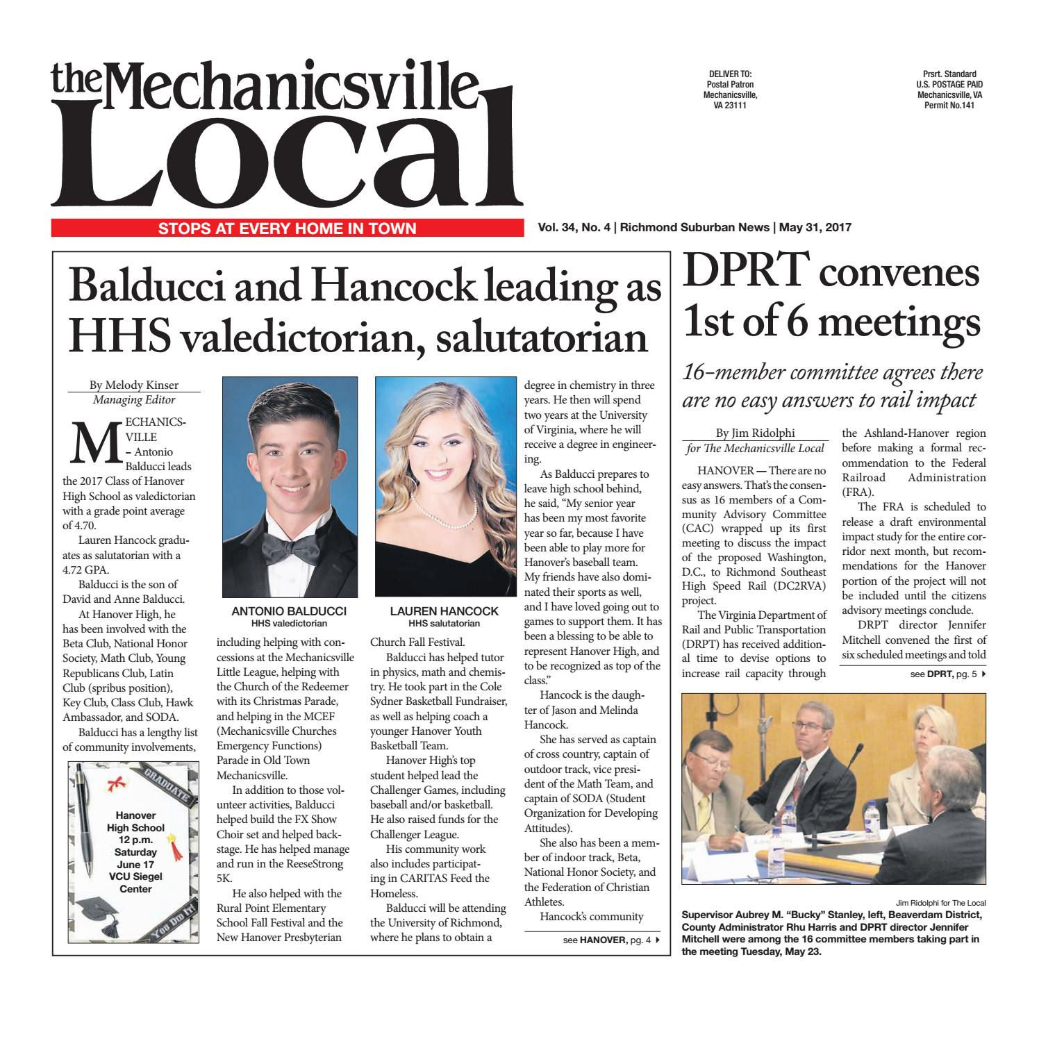 05 31 17 by the mechanicsville local issuu