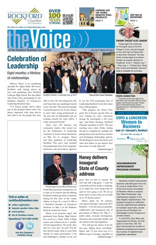 June Voice 2017 By Rockford Chamber Of Commerce Issuu