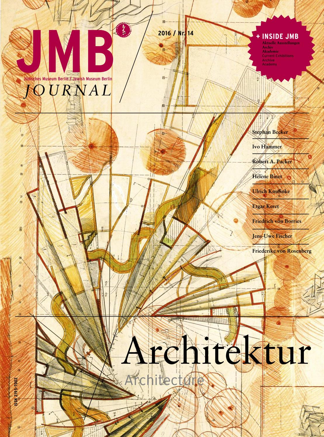Jewish Museum Berlin: JMB Journal Nr. 14 by Jewish Museum Berlin - issuu