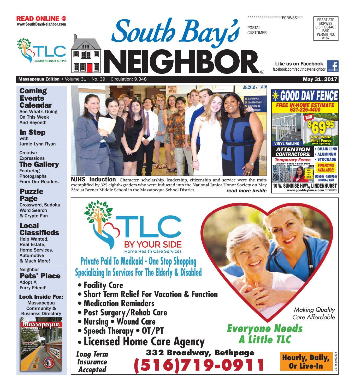 may 31, 2017 massapequa by south bay's neighbor newspapers - issuu