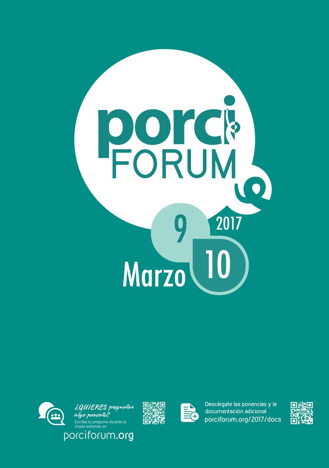 Porciforum 2017 memoria by Grupo agriNews - issuu