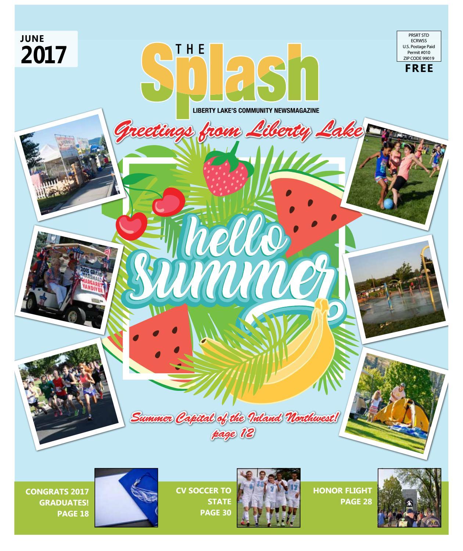 June 2017 Splash by The Liberty Lake Splash - issuu