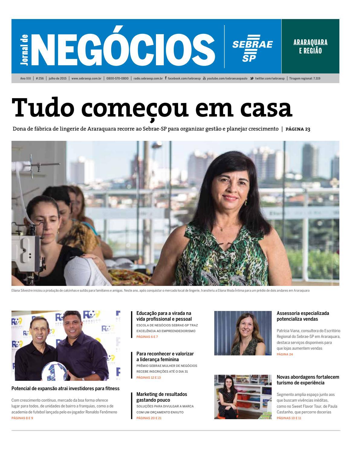 5d94e4d7e Jornal de Negócios Sebrae SP - 01 de Julho de 2015 - Araraquara e Região by  Sebrae-SP - issuu