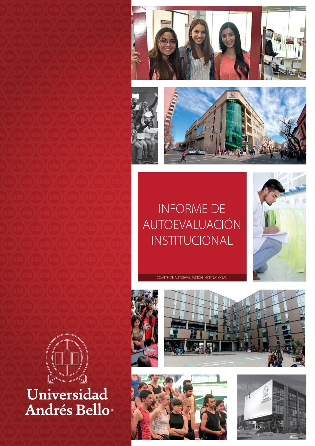Informe de Autoevaluación Institucional - Universidad Andrés Bello ...