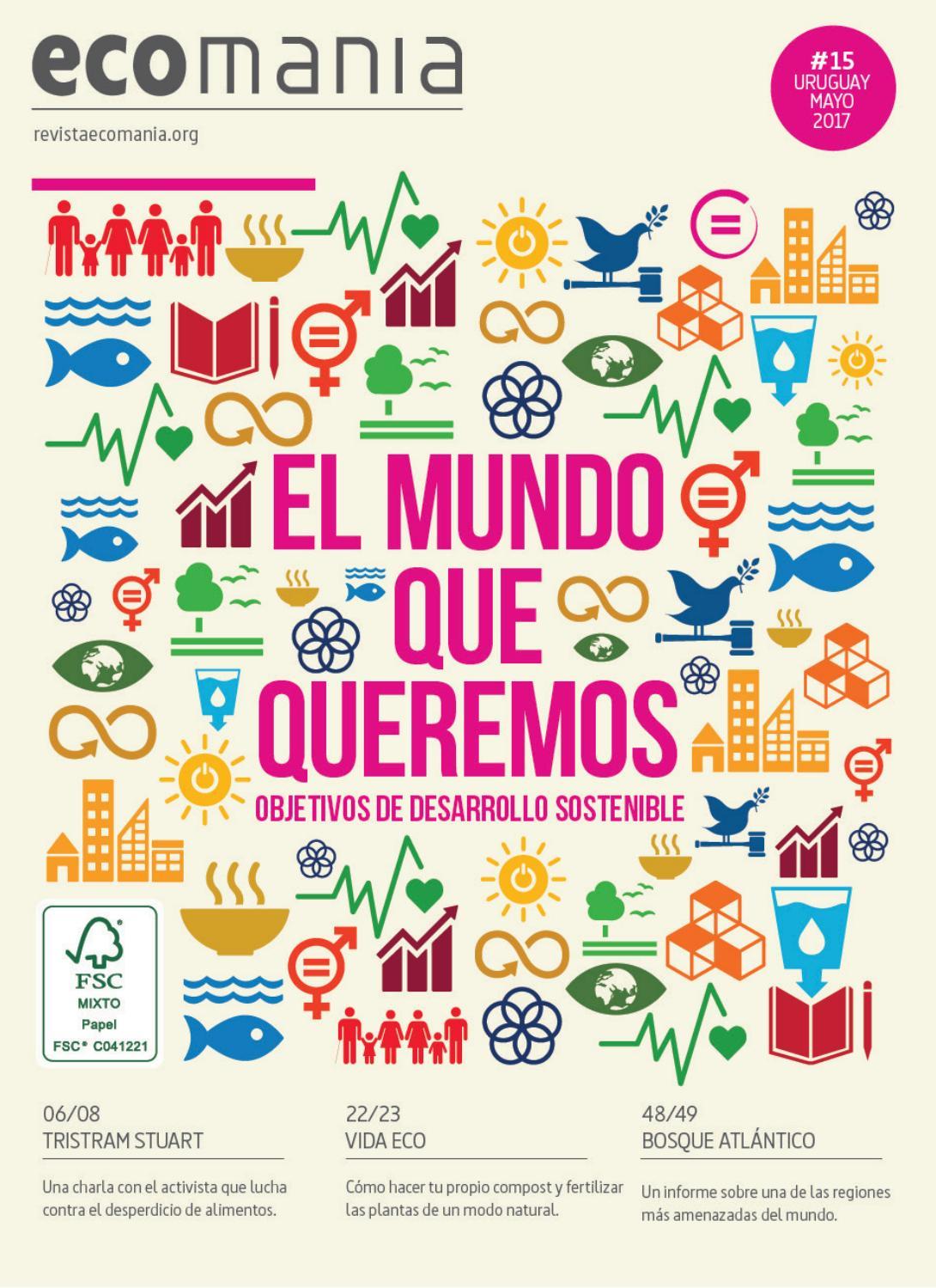 ECOMANÍA URUGUAY #15 // MAYO 2017 by Ecomania - issuu