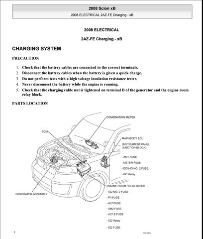 scion xb 2009 service repair manual by jhsefnnse issuu rh issuu com 2006 Scion xB Engine Diagram 2008 scion xd engine diagram