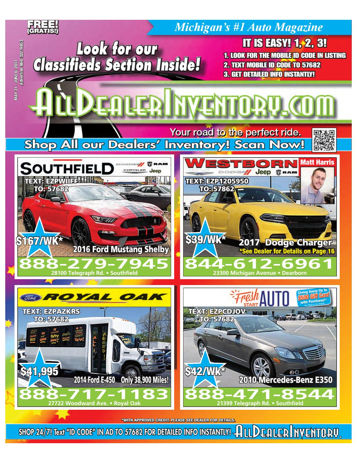 All Dealer Inventory's May 31st Digital Edition! Best