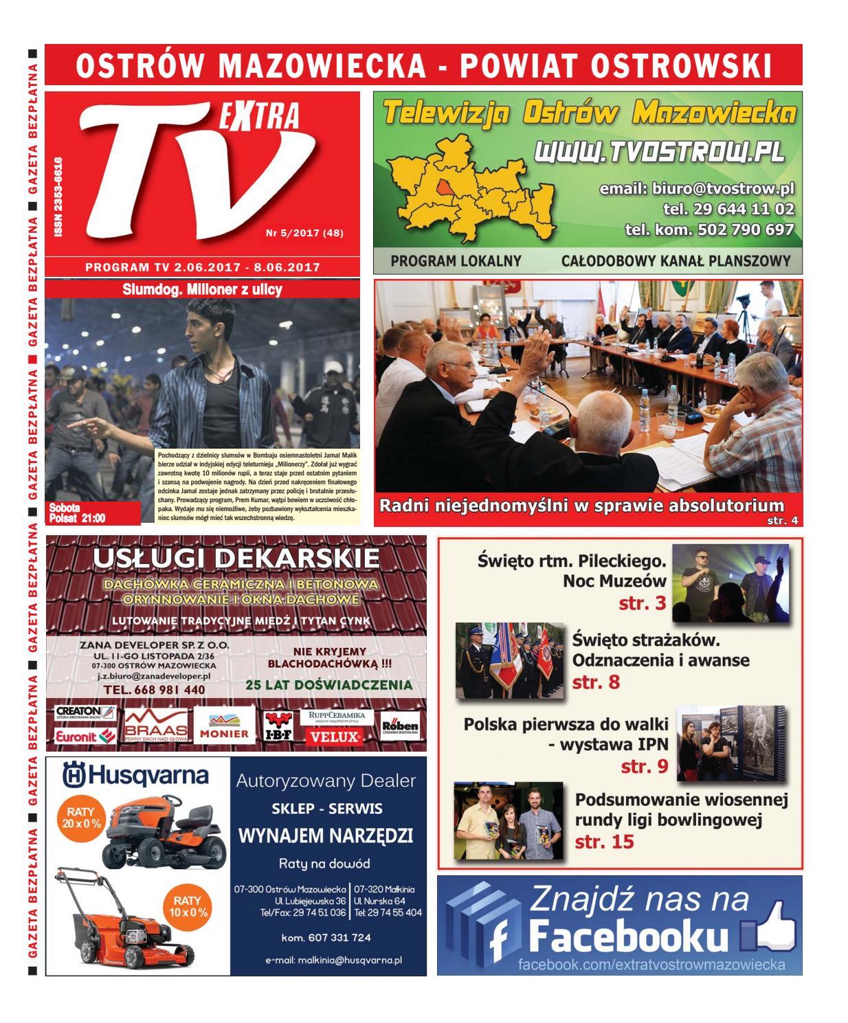 8e4cf36c4 Tv ostrow 5 2017 by TV Ostrów Mazowiecka - issuu