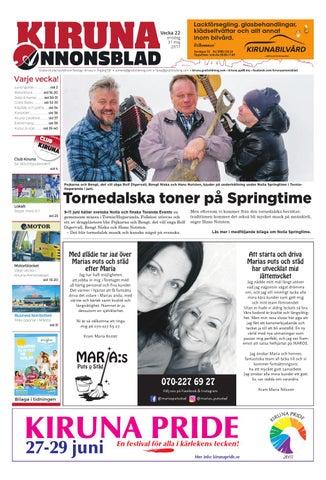 ba32825576dd Kiruna Annonsblad med Nolia Sprigtime bilaga by Svenska ...