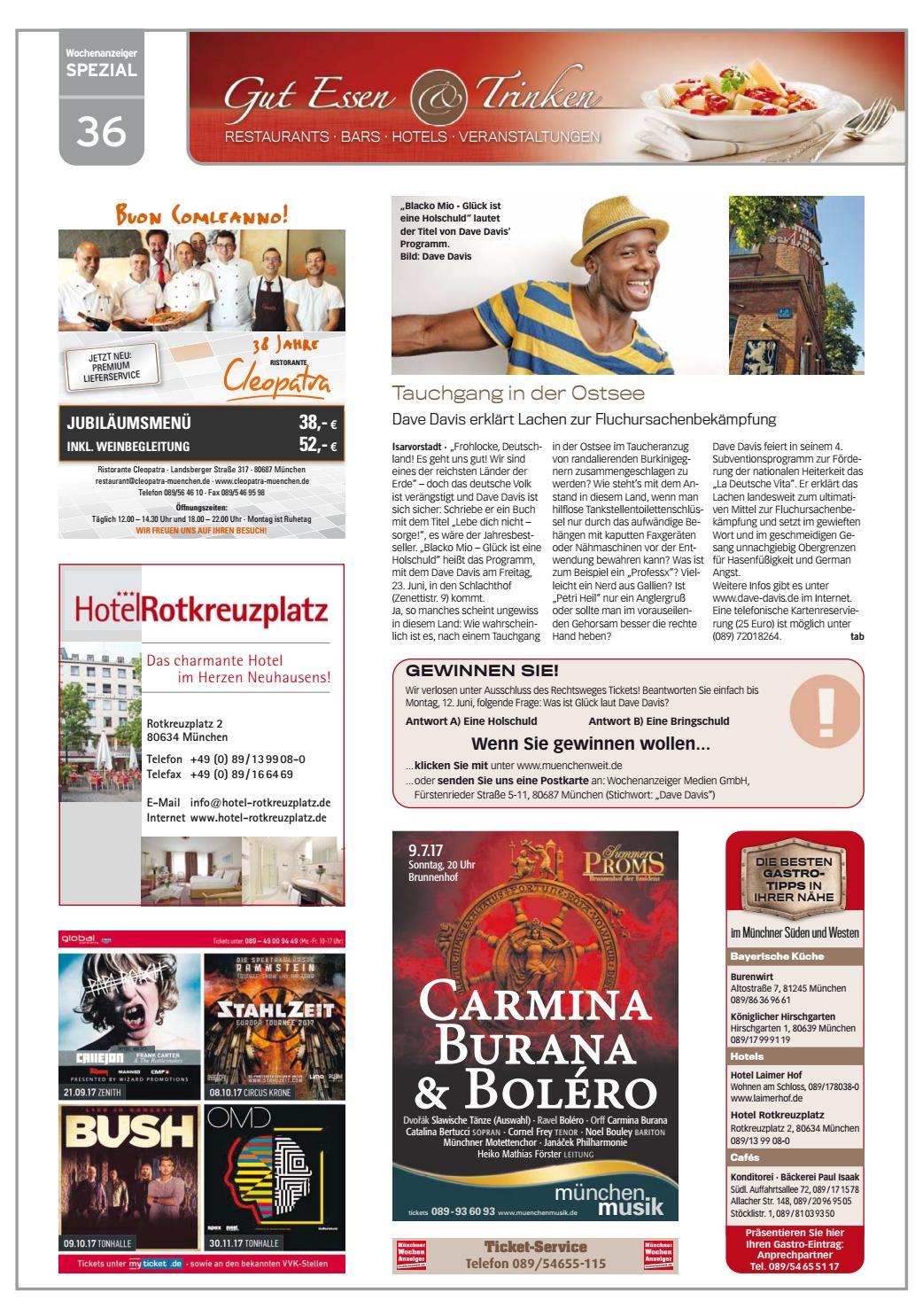 Kw 22 2017 by wochenanzeiger medien gmbh issuu for Spiegel jahresbestseller 2017