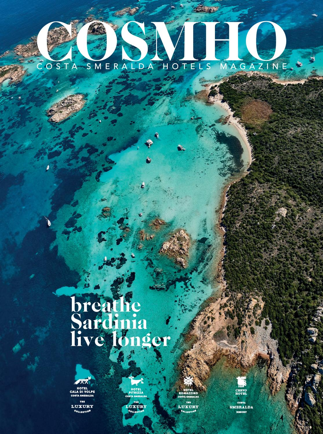 Cosmho 2017 - Costa Smeralda Hotels Magazine by Gruppo Editoriale srl -  issuu 7d43ead5c9c3