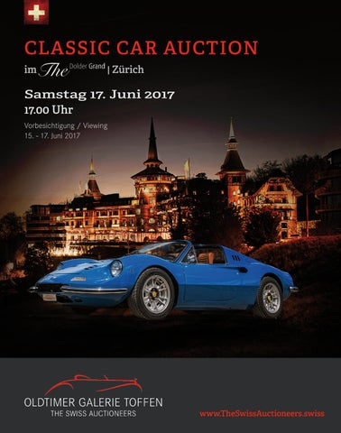 GSTAAAD CLASSIC CAR AUCTION- December 29th 2017 by Oldtimer Galerie ...