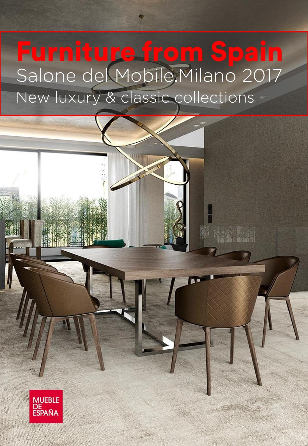 Salone Del Mobile Milano 2017 New Luxury Classic Collections  # Muebles Puchades