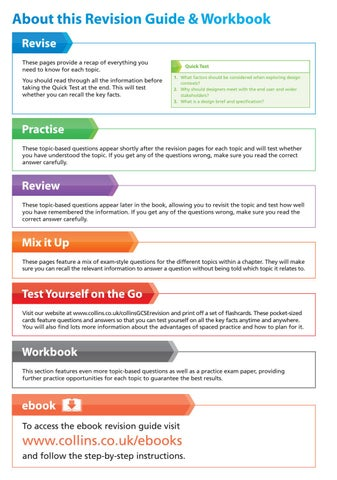 Essentials: GCSE design and technology