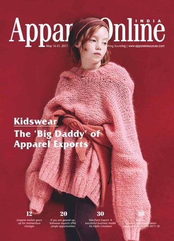 Appparel Online India 16-31 May'17 by Apparel Resources - issuu