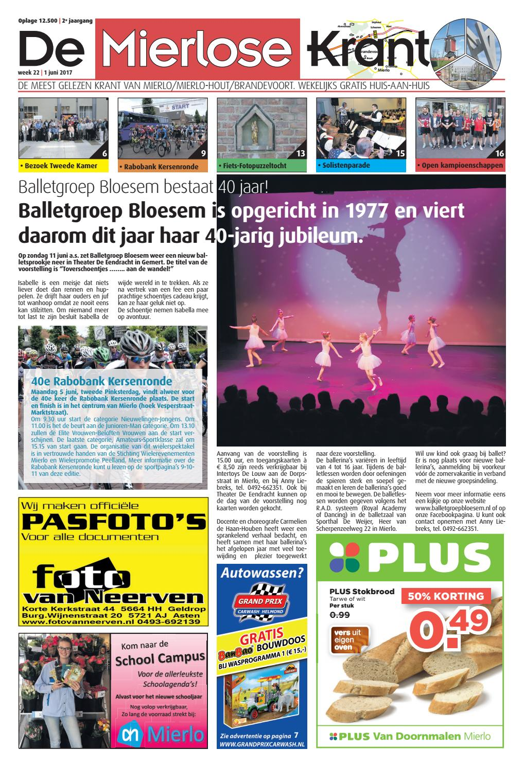 eb7be087407fd9 Mierlosekrant wk22 by ruudd reclamerespons.nl - issuu