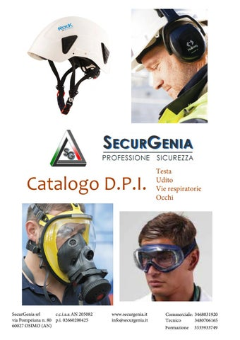 Catalogo dpi testa by SecurGenia srl - issuu eaa15a7774b4