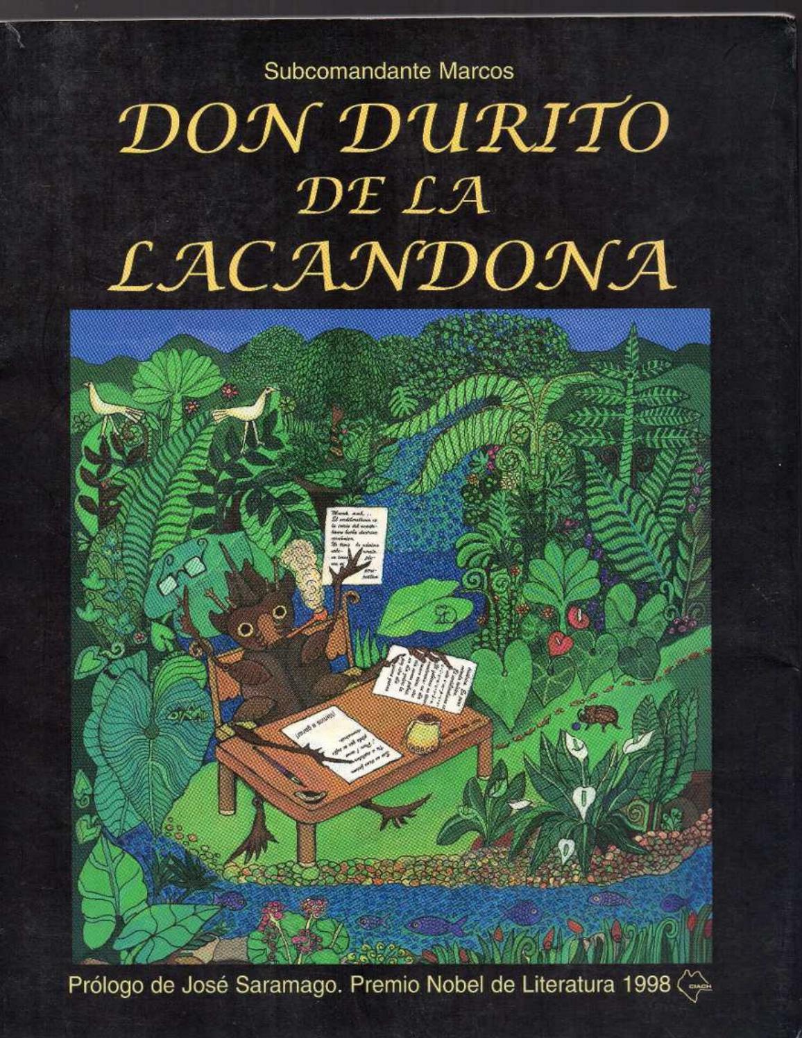 Don Durito de Lacandona - Subco Marcos by Jocha Castro Videla - issuu