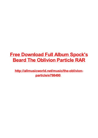Free download full album spocks beard the oblivion particle