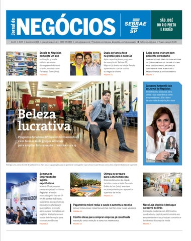 a39bbe08f8 Jornal de Negócios Sebrae-SP - 01 de dezembro de 2014 - São José do ...