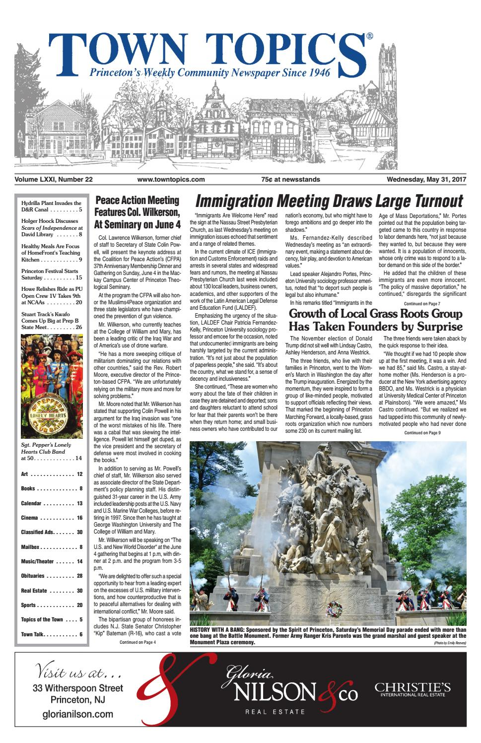 Town Topics 5-31-17 by Witherspoon Media Group - issuu