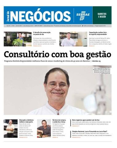 Jornal de Negócios Sebrae-SP - Abril de 2015 - Barretos e região 9163d2de5c0