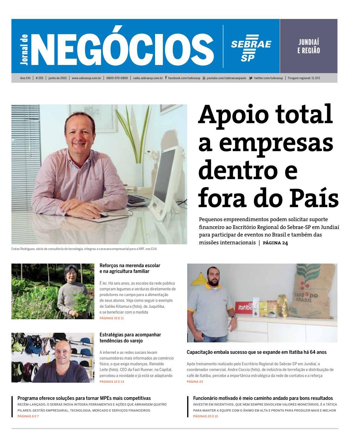 556a6e41473 Jornal de Negócios Sebrae-SP - 01 de junho de 2015 - Jundiaí e Região by  Sebrae-SP - issuu