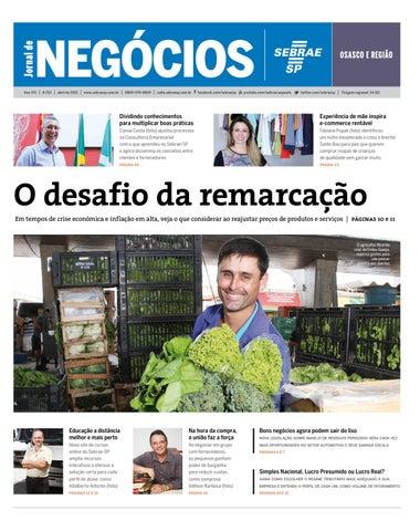 Jornal de Negócios Sebrae-Sp - 01 de Abril de 2015 - Osasco e Região ... 6193710892009
