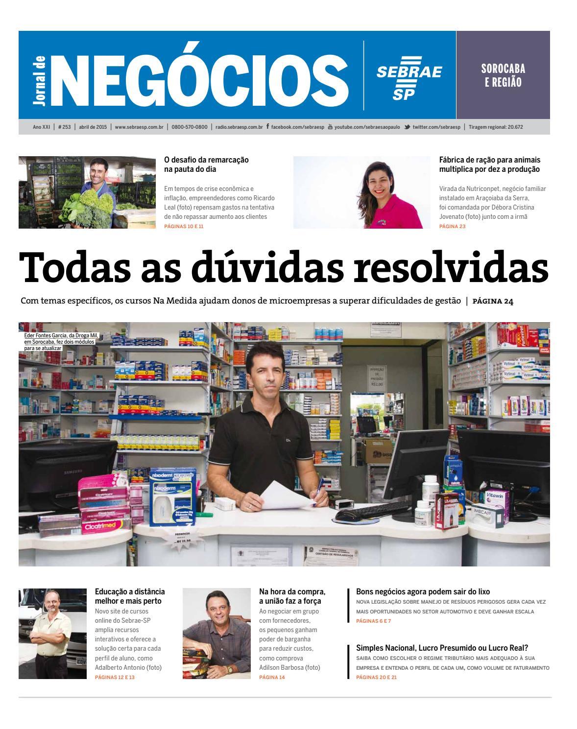 f08e836936 Jornal de Negócios Sebrae-SP - 01 de Abril de 2015 - Sorocaba e Região by  Sebrae-SP - issuu