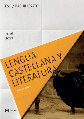 Lengua castellana y literatura canarias 2016 by Editorial