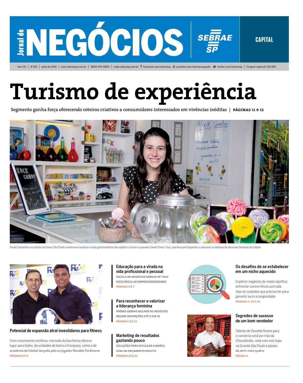 7a739b412 Jornal de Negócios Sebrae-SP - Julho de 2015 - Capital by Sebrae-SP - issuu