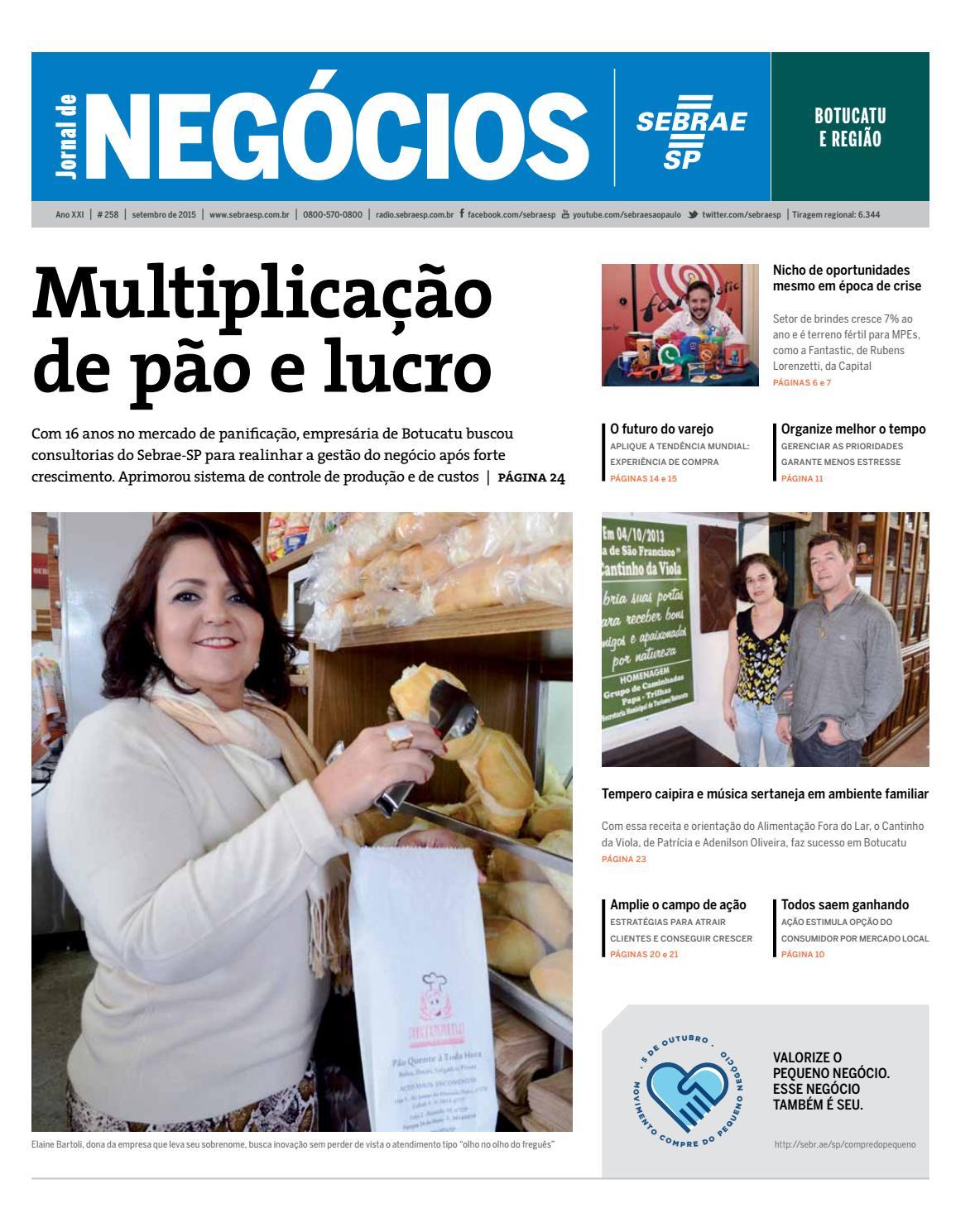 fe03893e5 Jornal de Negócios Sebrae-SP - 01 de setembro de 2015 - Botucatu e Região  by Sebrae-SP - issuu