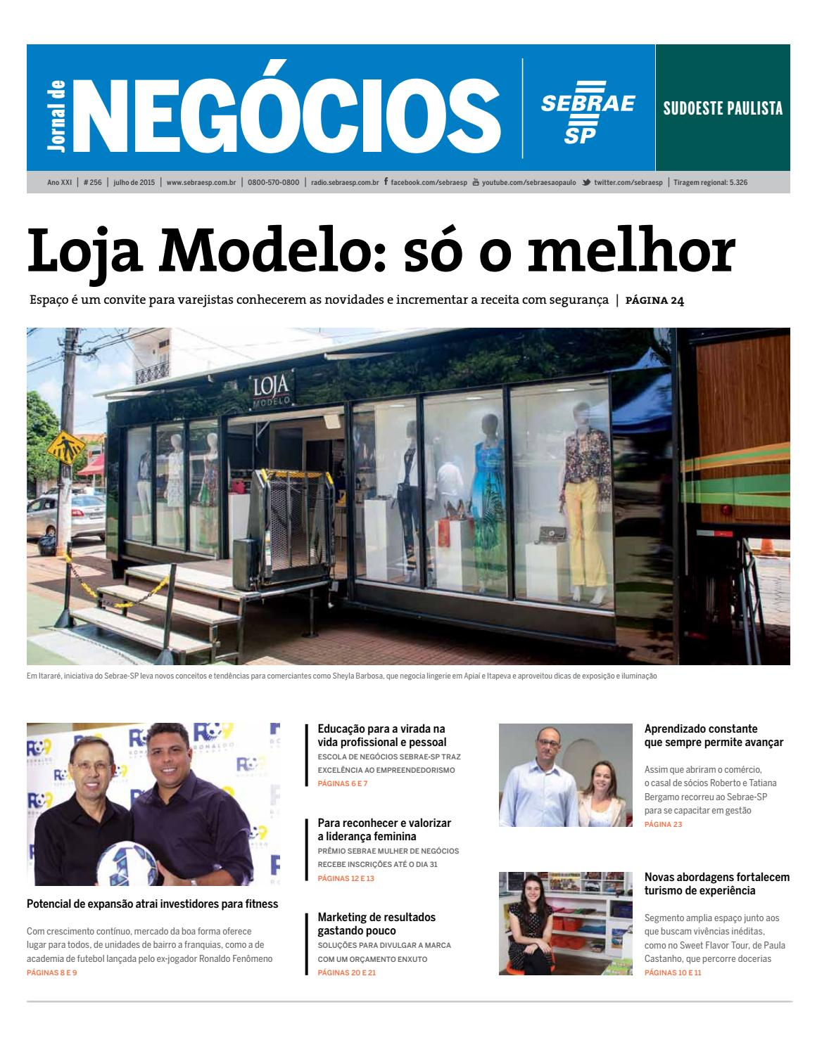 575676da1 Jornal de Negócios Sebrae-SP - Julho de 2015 - Sudoeste Paulista by Sebrae-SP  - issuu