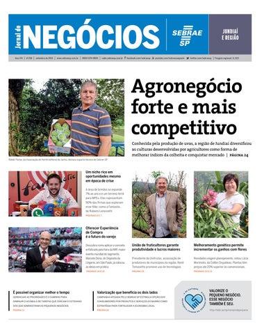 1d4ba2112 Jornal de Negócios Sebrae-SP - 01 de setembro de 2015 - Jundiaí e ...